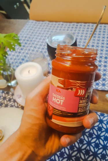 Taco sauce - It's not hot...