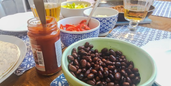 Our favourite, the black beans